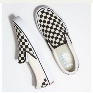Checkered Vans! NWT